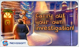 Screenshot of Christmasville: missing Santa