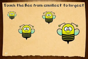 Screenshot of Tap The Bee
