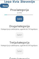 Screenshot of Logo Kviz Slovenija