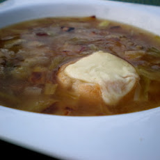 Double-Rich Onion Soup