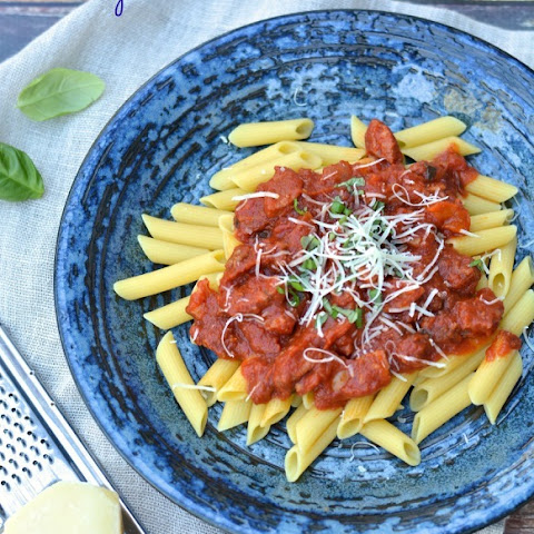 Savory Pasta Sauce with Meat