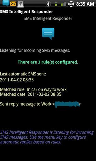 SMS Intelligent Responder