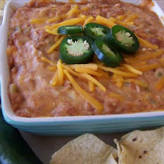 Hot Cheddar Bean Dip