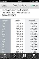 Screenshot of FP BNL/BNPP Italia Life Plan