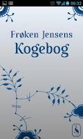 Screenshot of Frøken Jensens Kogebog