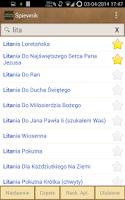 Screenshot of Śpiewnik Kościelny
