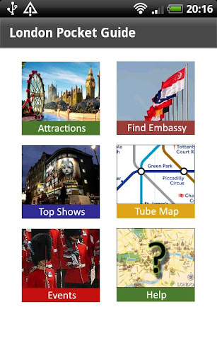 London Pocket Guide