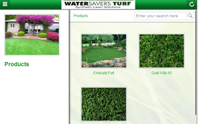 Screenshot of Water Savers Turf
