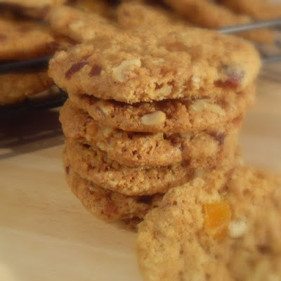Slice and Bake Oatmeal Cookies