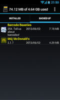 Screenshot of SPackMan