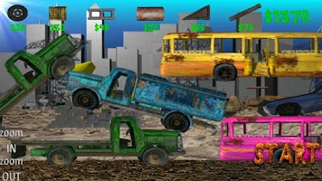 Screenshot of Monster Truck Junkyard NO ADS