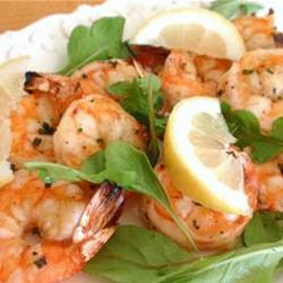 Garlicky Appetizer Shrimp Scampi
