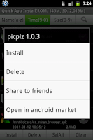 Screenshot of Quick App Install