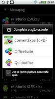Screenshot of Excel To PDF