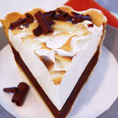 Marshmallow Black-Bottom Pie