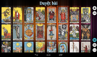 Screenshot of Tarot Việt