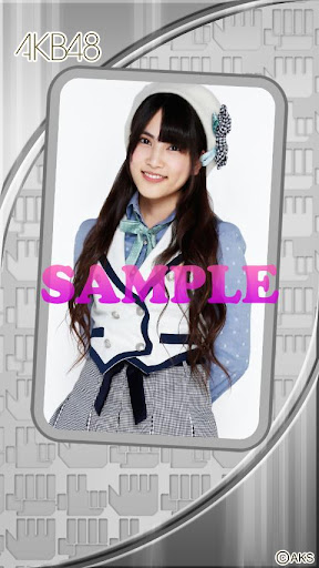 AKB48きせかえ 公式 入山杏奈ライブ壁紙-3J-