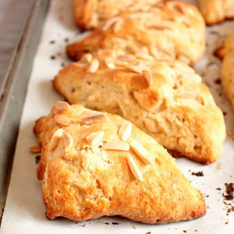 Marzipan Almond Scones