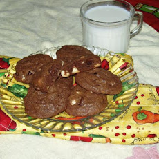 Cranberry Decadent Cookies