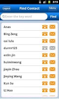 Screenshot of LeeAB Contacts