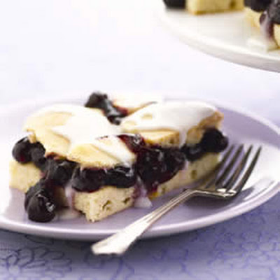 Easy Blueberry Shortbread