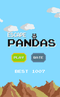 Escape Pandas - screenshot