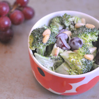 Broccoli Salad With Grapes And Nuts Recipes