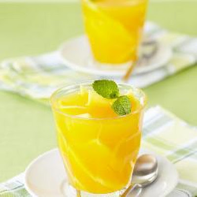 Tropical Mango And Ginger Jellies