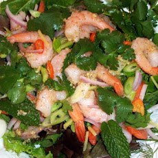 Sweet-And-Sour Thai Shrimp Salad