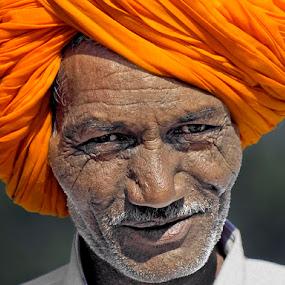 Turban Chic by Khaled Ibrahim - People Portraits of Men