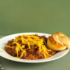 Beef and Three Bean Chili