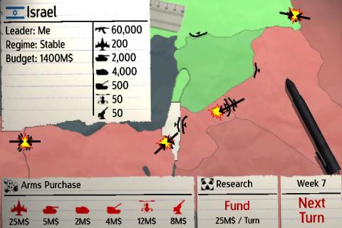 Mideast Conflict - screenshot