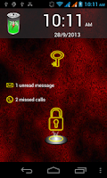 Screenshot of Neon Lock Screen