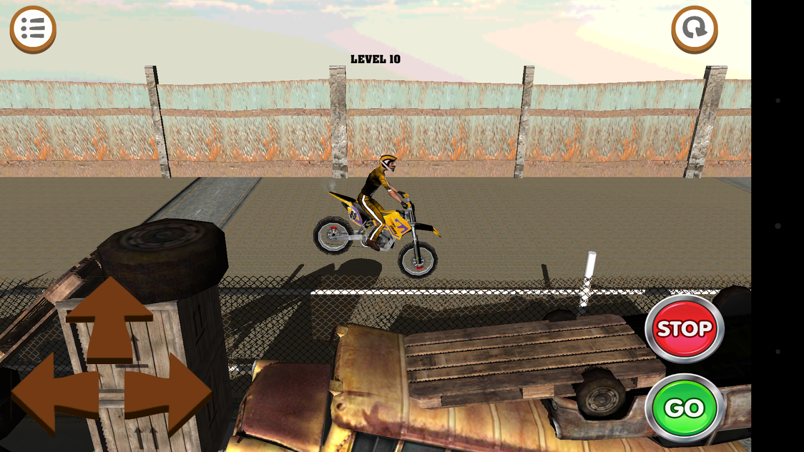 3D Motocross Bike: Industrial Screenshot 3