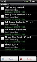 Screenshot of Data Backup Free