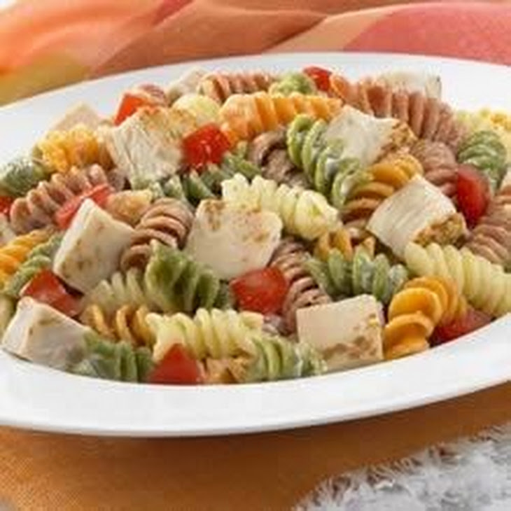 Chicken Ranch Pasta Salad
