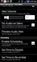 Screenshot of Missed Message Alerts - FOSS