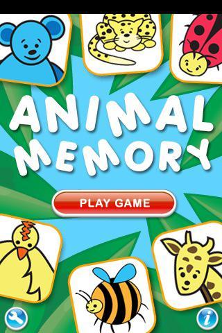 Animal Memory Kids Game