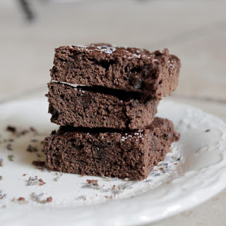 Lavender Maca Brownies