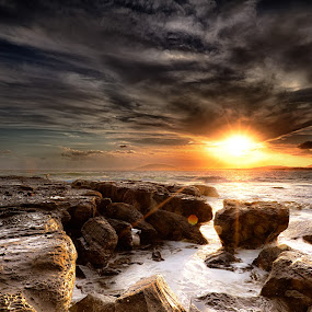 Gerroa 4 by Ian Mills - Landscapes Sunsets & Sunrises ( sunsets, gerringong, lee filter, landscape, beach )