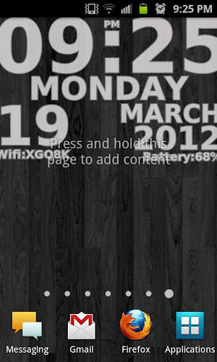 j clock live wallpaper free