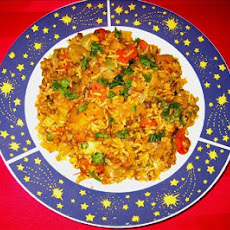 Taste of Heaven - Mushroom and Carrots Biryani