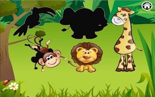 Screenshot of Animal Zoo Puzzle