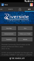 Screenshot of Riverside Community Church