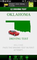Screenshot of Oklahoma Driving Test