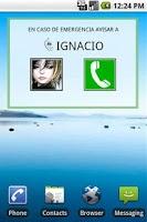 Screenshot of Avisar A Widget