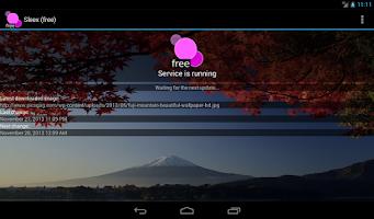 Screenshot of Sleex Wallpaper Changer (free)
