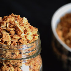 Maple Coconut Butter Quinoa Granola