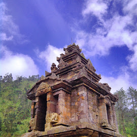 Gedong Songo by Prasetyo Noviriyanto - Buildings & Architecture Statues & Monuments ( temple, indonesia, low_angle, semarang, artistic )