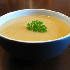 Cream of Celery Root Soup